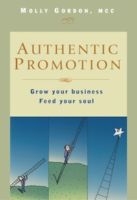 The Authentic Promotion home study course shows you how to grow your business without selling your soul