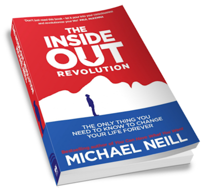 The Inside Out Revolution by Michael Neill book cover