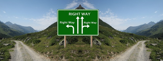 How can you tell when a decision is the right one?
