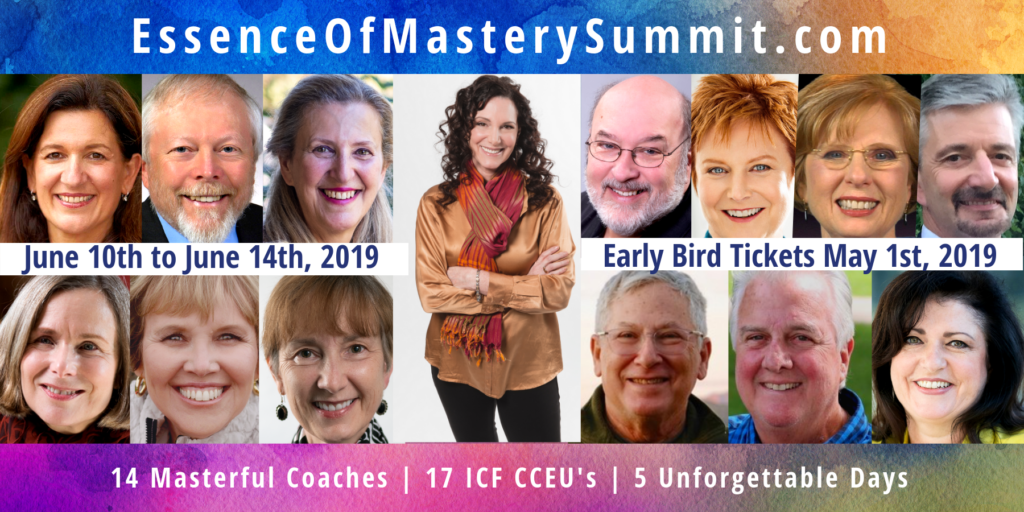 Banner with images of Essence of Mastery panelists.